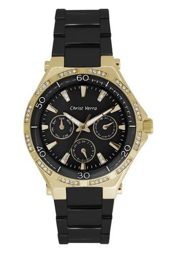 Christ Verra black Christ Verra Women's Watches CV 75026L-19 BLK B82D3ACCAADF28GS_1