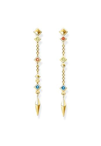 "THOMAS SABO silver earrings ""Mismatch"" C0AD8AC55F2EE5GS_1"