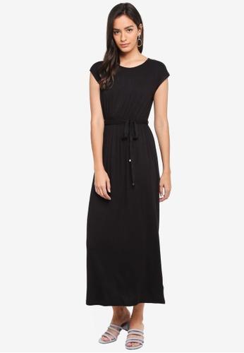Dorothy Perkins black Petite Black Maxi Dress AC1C2AA1D2C1DAGS_1