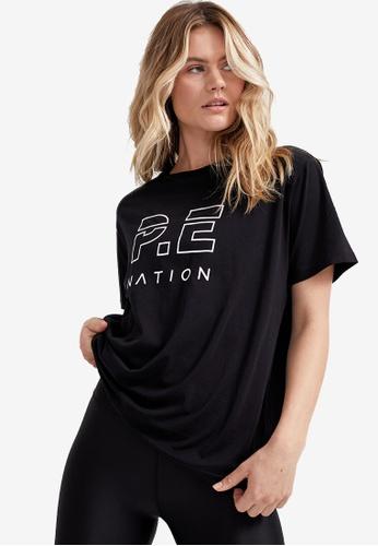 P.E Nation black Heads Up Tee A1849AA0D28A45GS_1