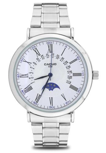 Dooka silver CAQUO Classic Men's Analog Watch 659 DO079AC36IDBPH_1