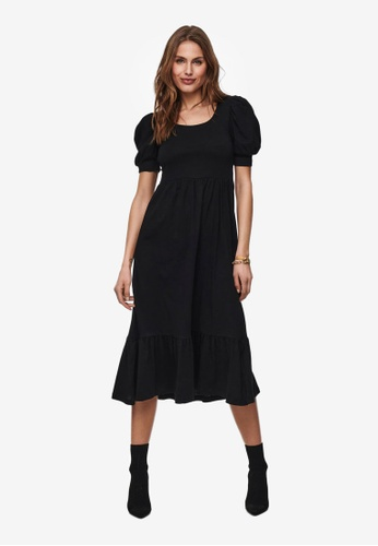ONLY black May Puff Dress A66B9AABBC9E47GS_1