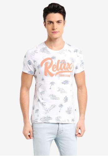 ESPRIT white Short Sleeve T-Shirt B10E1AA2593DDDGS_1