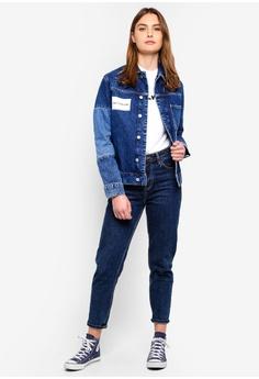 bdbf3273dd577 50% OFF Calvin Klein As One Pocket Trucker Jacket S  449.00 NOW S  223.90  Sizes S · ZALORA BASICS blue Denim Trucker Jacket B871FAAEF9443FGS 1