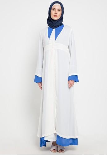 Aira Muslim Butik white Ramitha Outer D2405AAC4CD82BGS_1