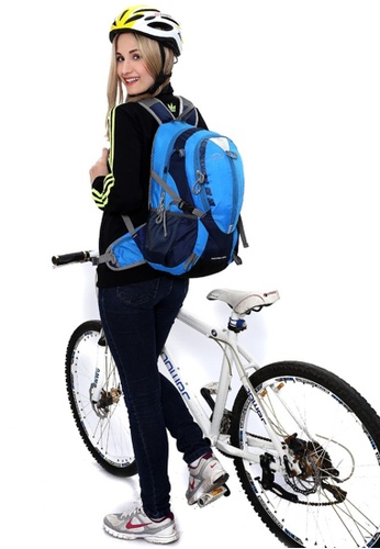 Local Lion Local Lion Multi Purpose Lightweight Casual Daypack Cycling Hiking Backpack HIKING 25L (Blue) LO780AC72QIHMY_1