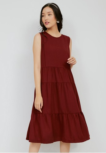 Chantilly red Chantilly Dress 2in1 Hamil/Menyusui dengan Slimming Effect 53063B F300CAA713C60EGS_1