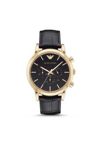 Empoesprit分店rio Armani LUIGI休閒系列腕錶 AR1917, 錶類, 休閒型