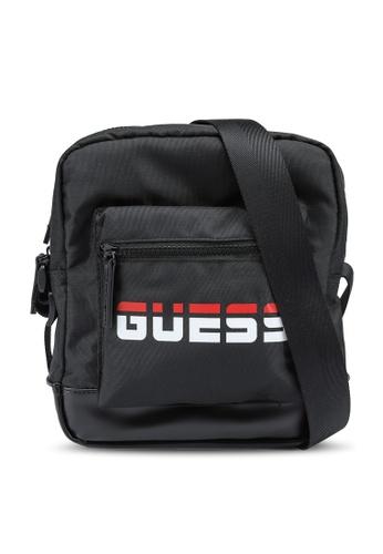 Guess black Duo Crossbody Bag 4ECD7ACB2509BCGS_1