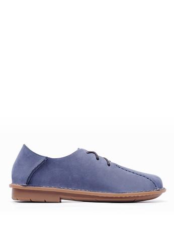 Life8 blue Men Slip-on Leather Casual Shoes-09727-Blue LI283SH0GP87SG_1