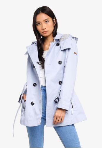 ESPRIT blue Regular Woven Coat D6450AAE2D1FF9GS_1