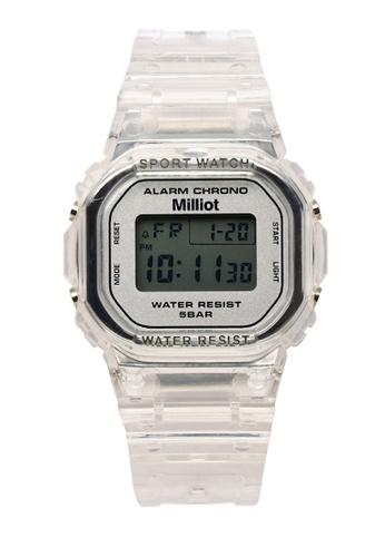 Milliot & Co. white Jennie Watch 26D16AC1849946GS_1