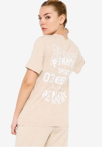 P.E Nation 米褐色 League T恤 3ECBBAA6AC0DF7GS_1