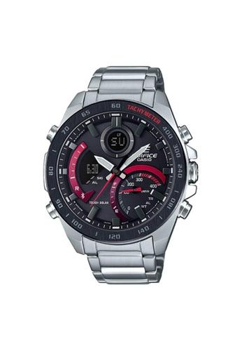 Casio silver CASIO EDIFICE ECB-900DB-1ADR SMARTPHONE LINK MEN'S WATCH 17466AC047BE90GS_1