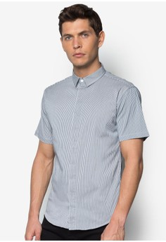 Short Sleeve Shirt With Small Collar