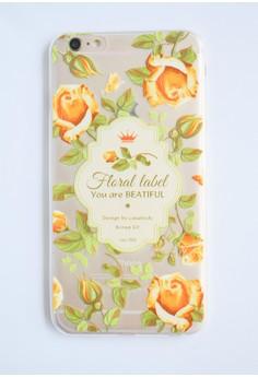 Roses Soft Transparent Case for iPhone 6 plus/ 6s plus