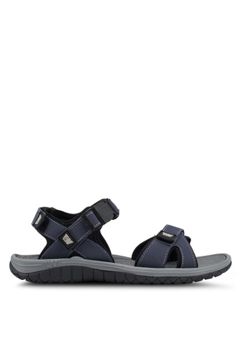 Weinbrenner navy Strap On Sandals BB221SHBCAB102GS_1