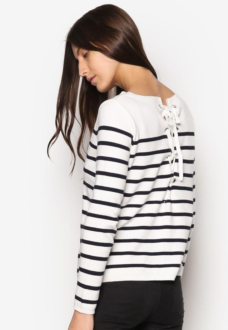 Interwoven Drawstring Sweater
