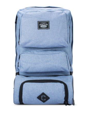 Chocollection blue Lincoln Travel Backpack CH825AC29GTMHK_1