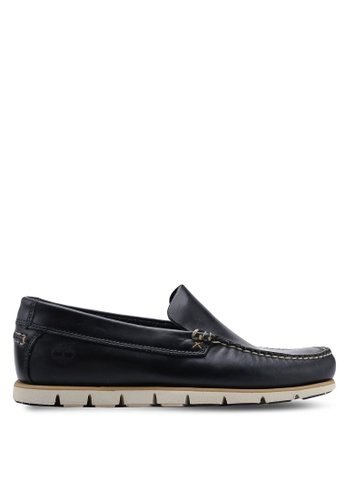 Timberland navy Tidelands Venetian Shoes 6E22ASH6902FB0GS_1