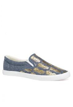 Pineappleaade Women Slip On Sneakers