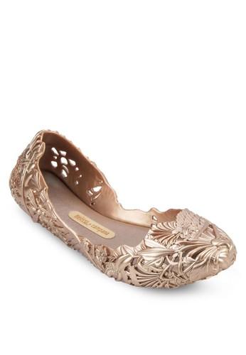 Campana Barroca 雕花平底鞋, 女鞋, 芭蕾esprit outlet 旺角平底鞋