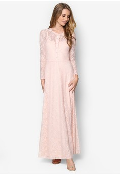 Summer Lace Maxi Dress