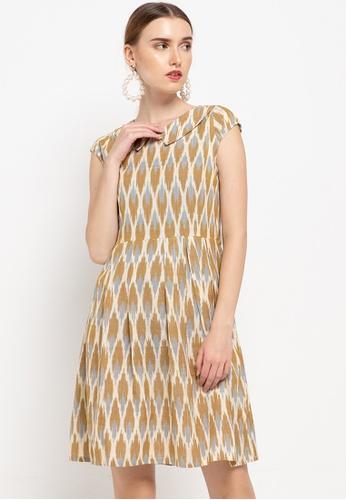CHANIRA LA PAREZZA brown Linka Dress 0D5F5AAAA8D1A5GS_1