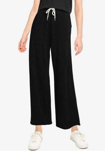 GAP black High Rise Straight Leg Pants 2A9D8AAB23E3A0GS_1