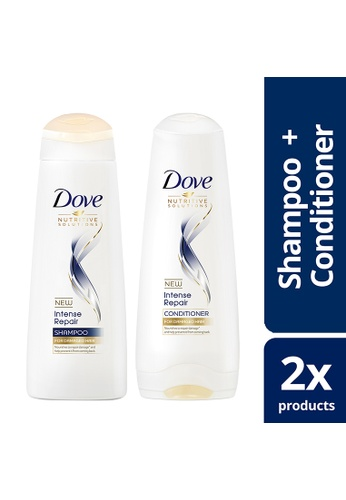 Dove n/a Dove Intense Repair Shampoo 170ml and Hair Conditioner 180ml Promo Pack 403B3BECA15D18GS_1