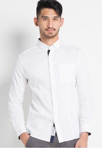 X8 white Kasen Shirt X8323AA18LENID_1