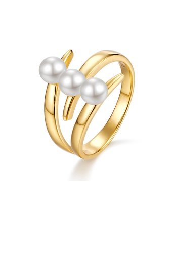 SUNSET gold Premium 9K Gold Pearl Ring B80A2AC0C83556GS_1