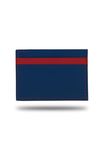Kulor Cases red and blue Peacock Blue and Crimson Red Leather Envelop Style Cardholder 8887EAC313A720GS_1