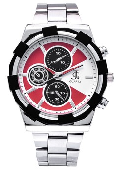 Round Dial Chrono Analogue Watch