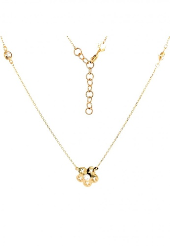 KARAT WORLD gold HQZ 18Kt Yellow Gold Chain Pendant FEF9FAC236150EGS_1