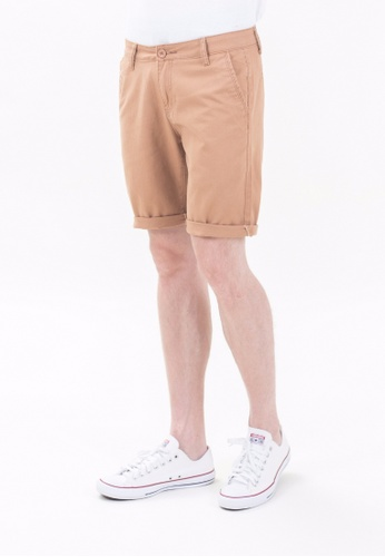 Drum Classic Chinos Pants-KHK DR425AA23TJCMY_1