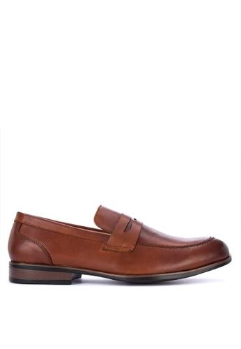 Gibi brown Wax 002 Formal Shoes 15AD8SH4809848GS_1
