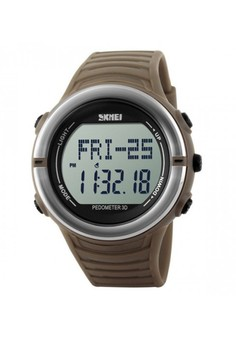 50M Waterproof Heart Rate Monitor Pulse Watch