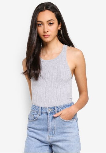 Supre grey Leah Singlet Top 750C5AA27224E3GS_1