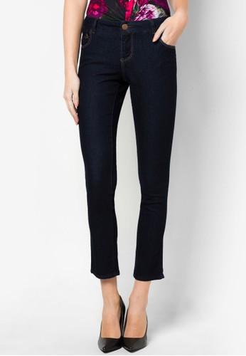 窄管錐形牛仔褲, 服飾, zalora 鞋評價服飾