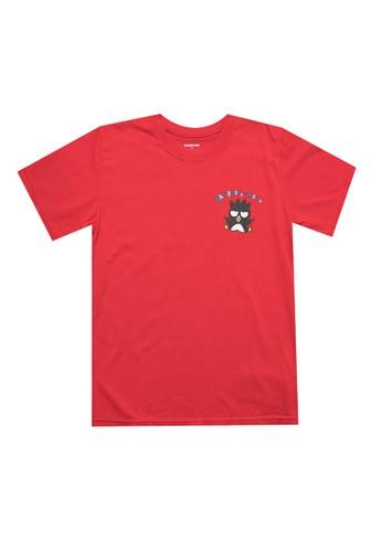Bateeq red Boys Tshirt B4492KA84231C4GS_1