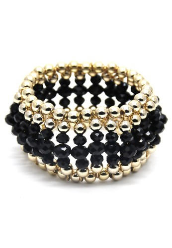 Istana Accessories Gelang Ruli Bracelet Fashion-Hitam
