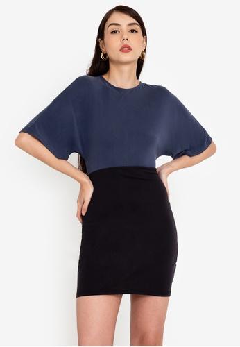 Origin by Zalora multi Kimono Sleeve Dress made from TENCEL™ 503AFAA293A71FGS_1