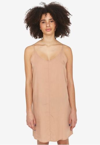 Noisy May brown Ira Sleeveless Dress EA12CAA2341876GS_1