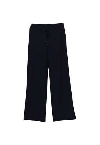 LC Waikiki navy Normal Waist Elastic Waist Trousers F4277AA8090BFDGS_1