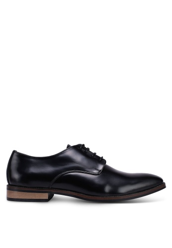 Acuto black Leather Business Shoes DE6F3SH13041F8GS_1