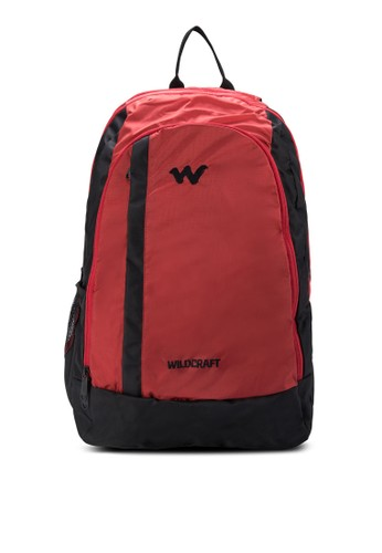 Roh 雙拉鍊筆電後zalora 衣服評價背包, 包, 電腦包