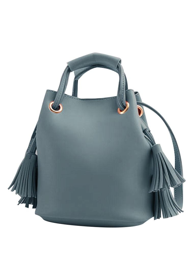 Femme Tassel Bucket Bag