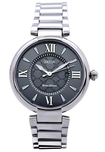 ZECA black and silver and grey Jam Tangan Wanita 100L.SD.S7 ZE074AC99WUMID_1