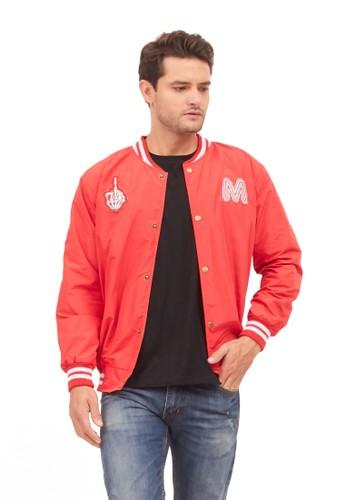 MUGABE red MUGABE mens jacket hale red 44D78AA3D8C60FGS_1